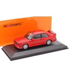 BMW M30 (E30) - 1987 - RED - MAXICHAMPS