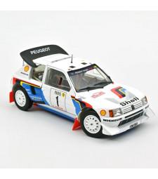 Peugeot 205 T16 - Rallye Monte-Carlo 1986 - T. Salonen/S. Harjanne
