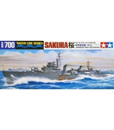 1:700 Japanese Navy Destroyer Sakura
