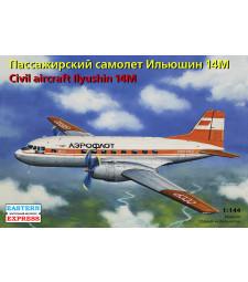 1:144 Ilyushin IL-14M Russian Short-haul Passenger Aircraft, Aeroflot USSR