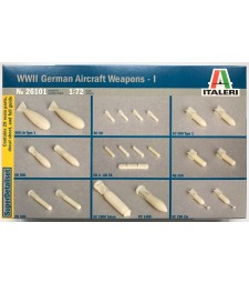 1:72 WWII: GERMAN AIRCRAFT WEAPONS I