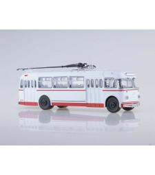 KTB-4 trolleybus /white/