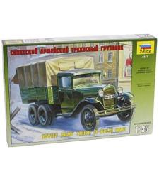1:35 GAZ-AAA SOVIET TRUCK (3-AXLE)