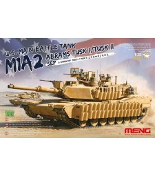 1:35 U.S. Main Battle Tank M1A2 SEP Abrams TUSK I/TUSK II