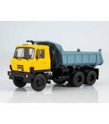 Tatra 815S1 dump truck (yellow-blue)