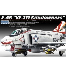"1:48 F-4B PHANTOM VF-111 ""SUNDOWNERS"" (MCP)"