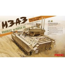 1:35 U.S. Cavalry Fighting Vehicle M3A3 BRADLEY w/BUSK III