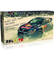 1:24 Volkswagen Polo R WRC 2015Winner Rallye Automobile de Monte-Carlo 2015