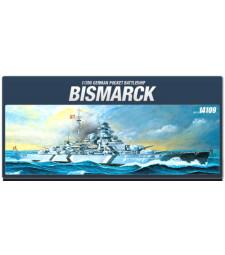 """1:350 German battleship """"BISMARCK"""""""