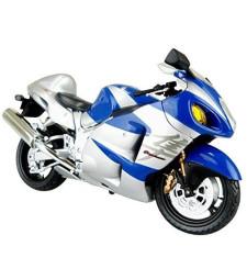 1:12 SUZUKI GSX1300R HAYABUSA BLUE - DIECAST MOTORCYCLE