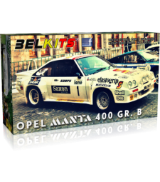 1:24 Opel Manta 400 Gr. B Jimmy McRae, 24 Uren van Ypres 1984