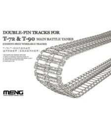 1:35  Double-Pin Tracks for T-72 & T-90 Main Battle Tanks (Cement-Free Workable Tracks)