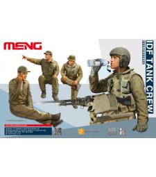 1:35 IDF Tank Crew - 4 figures
