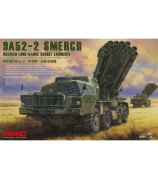 1:35 RUSSIAN LONG-RANGE ROCKET LAUNCHER 9A52-2 SMERCH