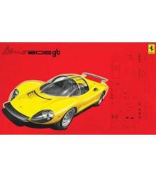 1:24 Ferrari Dino 206 GT 1967