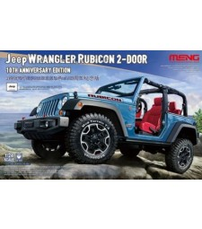 1:24 Jeep Wrangler Rubicon 2-Door 10th Anniversary Edition