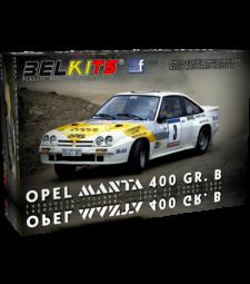"1:24 Opel Manta 400 [GG-CT 361] ""MOBIL""TdC´84 #3 Fréquelin/""Tilber"""