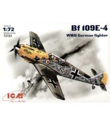 1:72 Messerschmitt Bf 109E-4, WWII German Fighter