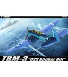 """1:48 TBM-3 """"USS BUNKER HILL"""""""