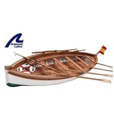 1:35 JUAN SEBASTIAN ELCANO - LIFEBOAT - Wooden Model Ship Kit