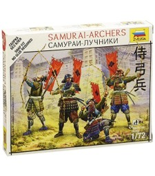 1:72 SAMURAI-ARCHERS - snap-fit - 5 figures