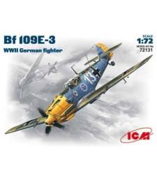 1:72 Messerschmitt Bf 109E-3, WWII German Fighter