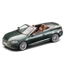 Audi A5 Convertible - Gotland Green