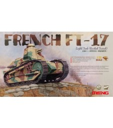 1:35 FRENCH FT-17 LIGHT TANK (RIVETED TURRET)