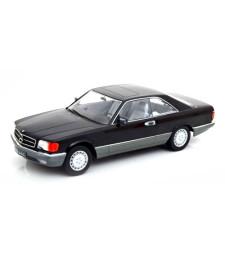 Mercedes 560 SEC C126 1985 Black - Limited Edition 1000 pcs.