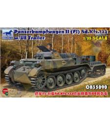1:35 PzKpfw. II(FI) Sd.Kfz.122 w/UE Trailer