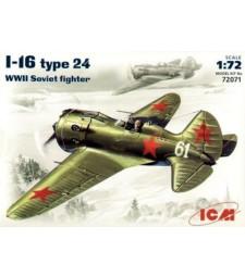 1:72 I-16 type 24, WWII Soviet Fighter