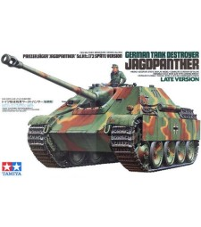 1:35 German Tank Destroyer Jagdpanther Late Version - 1 figure