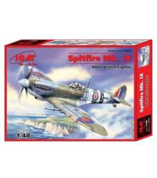 1:48 Spitfire Mk.IX, WWII British Fighter