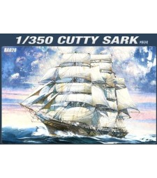 "1:350 British clipper ship ""Cutty Sark"""