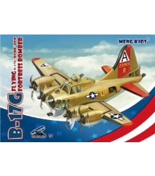 B-17G Flying Fortress Bomber, snap-fit - MENG KIDS