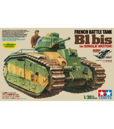 1:35 FRENCH BATTLE TANK B1 bis (w/SINGLE MOTOR)