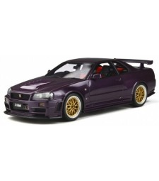 NISSAN SKYLINE GT-R NISMO Z-TUNE (R34) 1998 MIDNIGHT PURPLE/GOLD