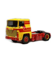 Scania LBT 141, yellow/red, 1976