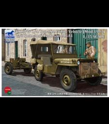 1:35 US GPW 1/4 ton 4x4 Utility Vehicle (Mod.1942) w/37mm Anti-Tank Gun M3A1