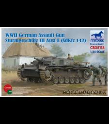1:35 WWII German Assault Gun Sturmgeschütz  III Ausf E (SdKfz 14