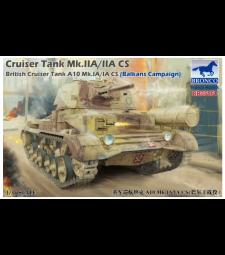 1:35 Cruiser Tank Mk.IIA/IIA CS  British Cruiser Tank A10 Mk.IA/IA C