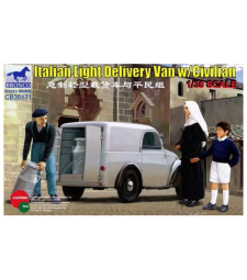 1:35 Italian Light Delivery Van w/Civilian