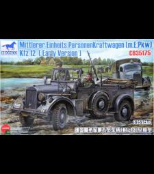 1:35 Mittlerer Einheits Personenkraftwagen (m.E.Pkw) Kfz 12 (Early Version)