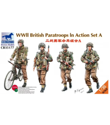 1:35 WWII British Paratroops In Action Set A