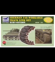 1:35 Sherman T48 Workable Track Link Set