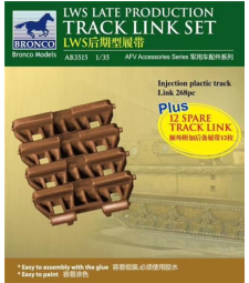 1:35 LWS Late-Production Track link set
