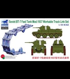 1:35 Soviet BT-7 Fast Tank Mod.1937 Workable Track Link Set