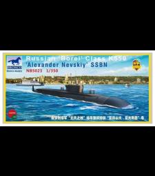 1:350 Russian 'Borei' Class K-550   'Alexander Nevskiy' SSBN