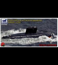 1:350 Kilo Type 636  Attack Submarine