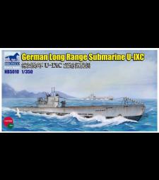 1:350 German Long Range Submarine Type U-IXC